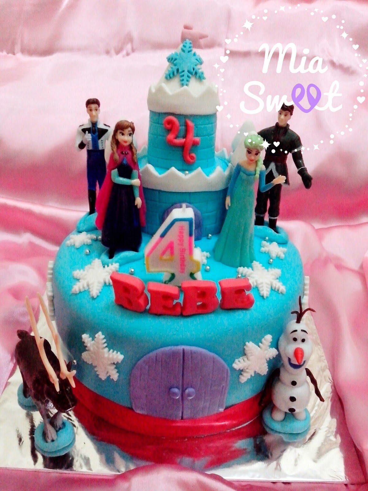 Birthday Cake Tema Frozen ~ Mia Sweet