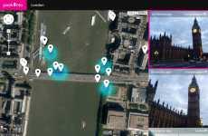 Peekinto: permite ver fotos de Instagram tomadas en distintos lugares del mundo, geolocalizadas en un mapa de Google Maps