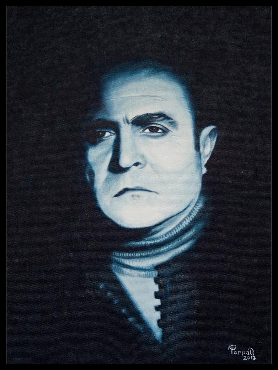 Ahmed arif portre portre siparişi resim yağlı boya resim