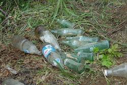 Coke Bottles from the Root Cellar