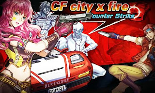 Screenshots of the CF city x fire: Counter strike for Android tablet, phone.
