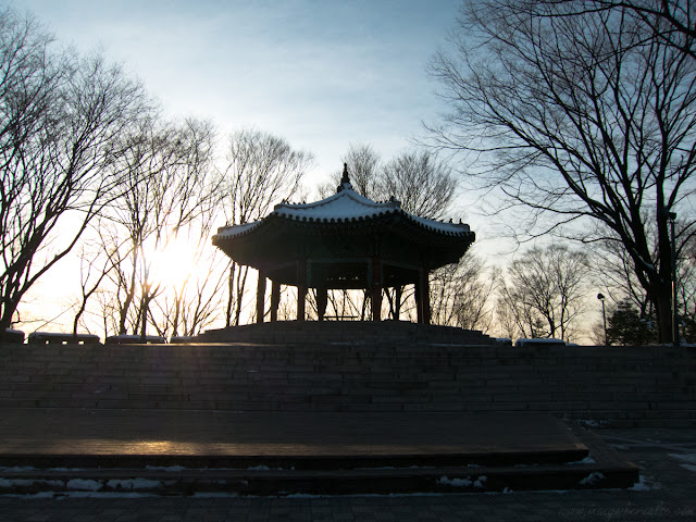 Gazebo on top of Mt. Namsan