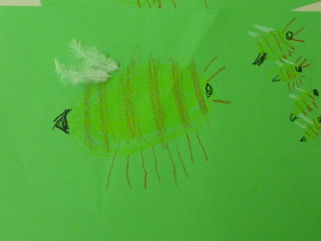 Biene zeichnen mit Kindern