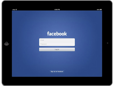 Aplicación oficial de Facebook para iPad