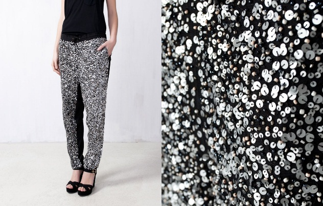 Pull and Bear beaded sweatpants online shop