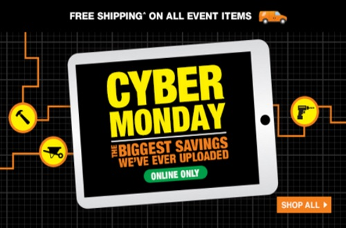 The Home Depot Cyber Monday
