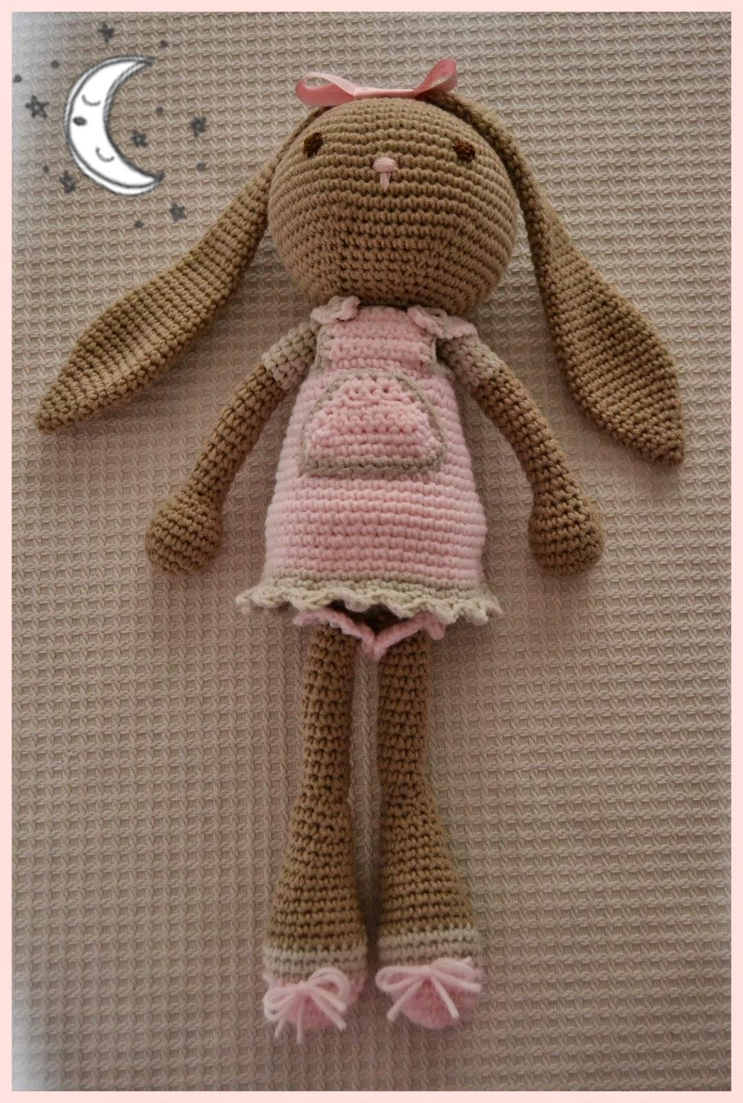 MISS PERCHAS!!!: Conejita orejas largas, versión niña!