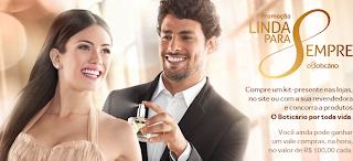 """Promoção """"Linda Para Sempre"""" - Boticário"""