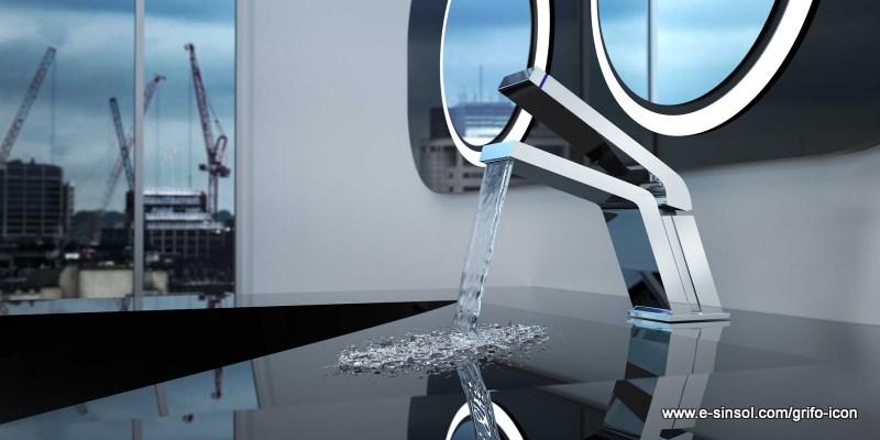 El blog del ba o grifo de dise o para el lavabo for Grifos modernos