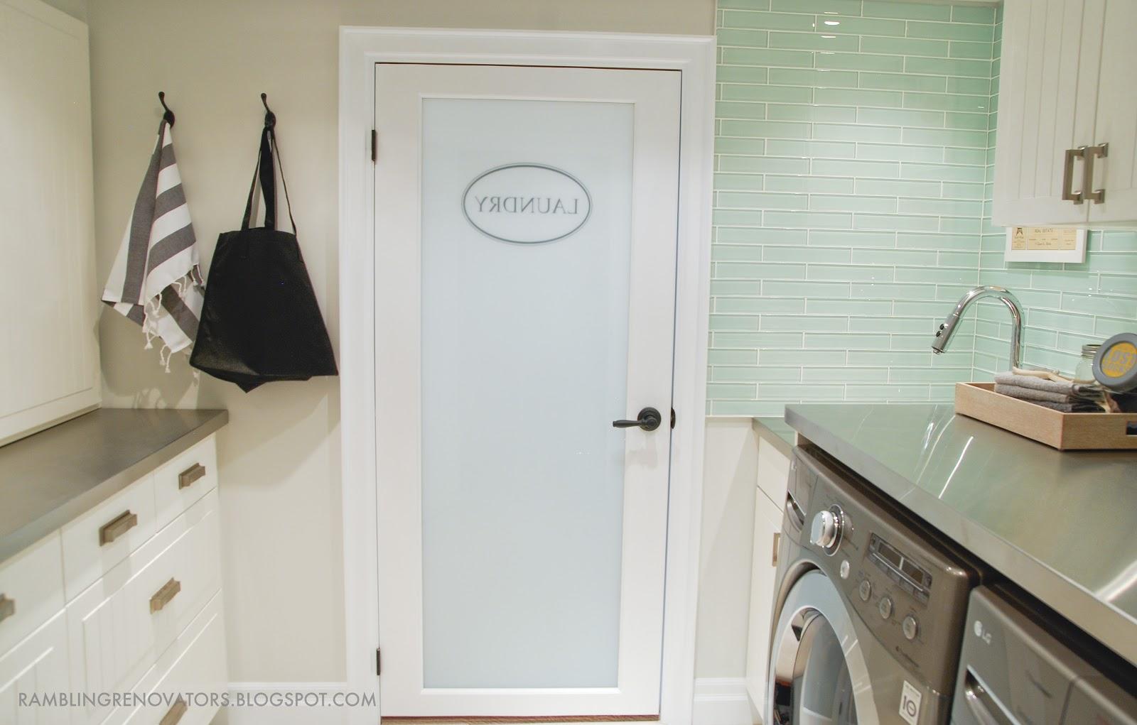 Laundry room renovation tips rambling renovators for Laundry room renovation