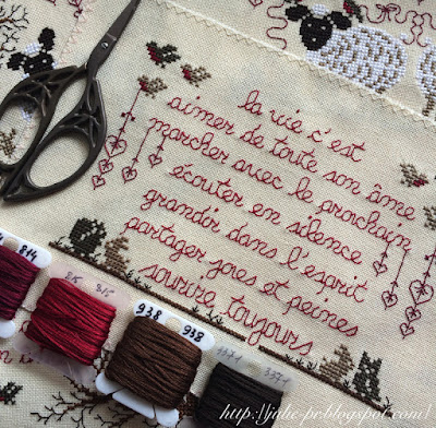 Renato Parolin, Miettes de sagesse, вышивка крестом, влюбленные барашки ренато паролин