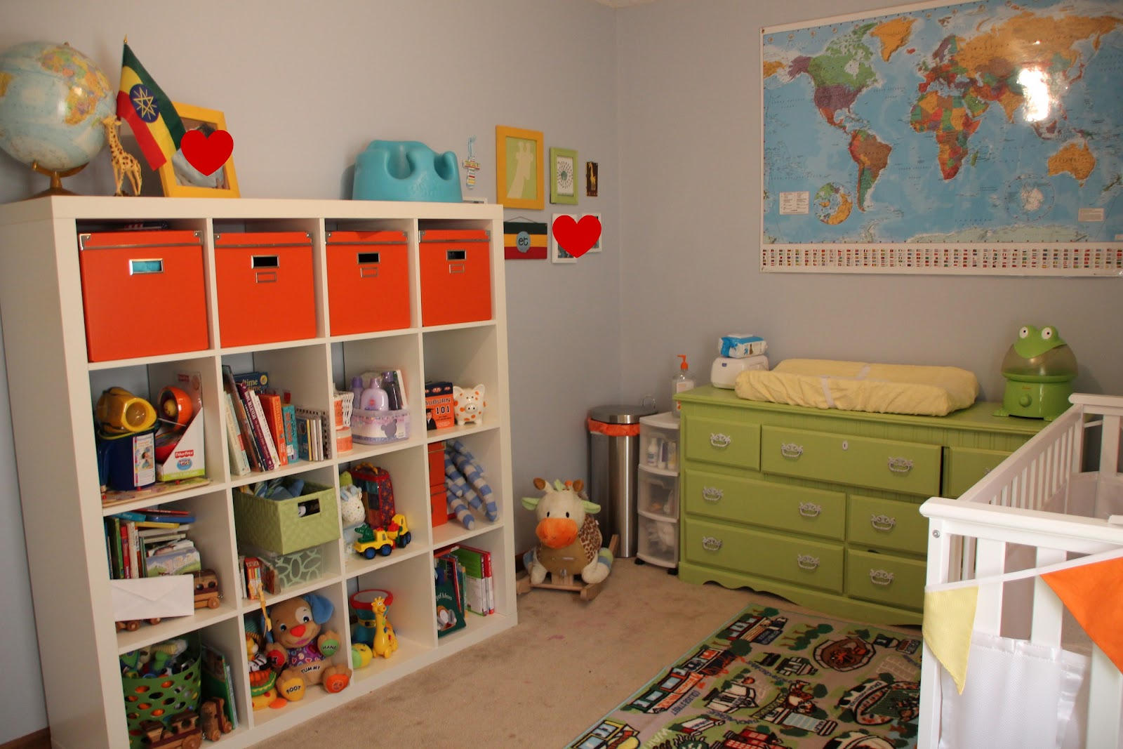 To Adoption and whatever else God calls us to!: Israel's Nursery #BC2F0F