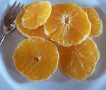 Naranja con pacharán