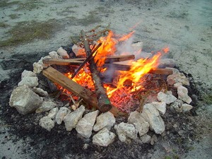 hot coals only burn the one holding them