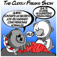 The Cuddly Freaks Show Tira 9: En ocasiones....
