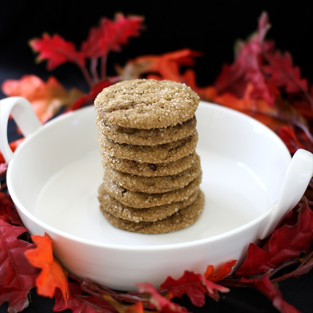 SOFT PUMPKIN GINGERSNAP COOKIES: Butter With A Side of Bread