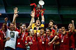 Espanha campeã Eurocopa 2012