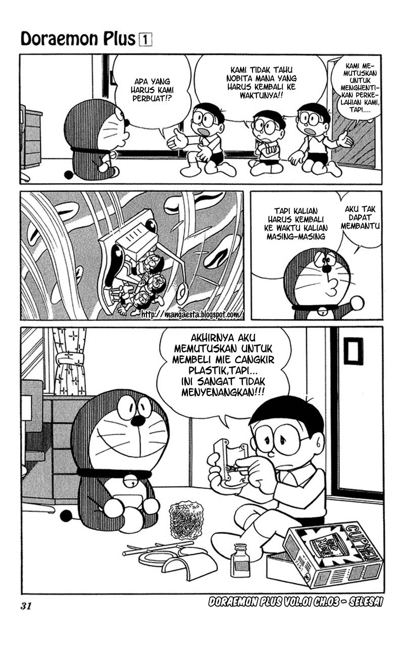 Baca Komik Doraemon Plus Vol 1 Chapter 003 - Halaman 09