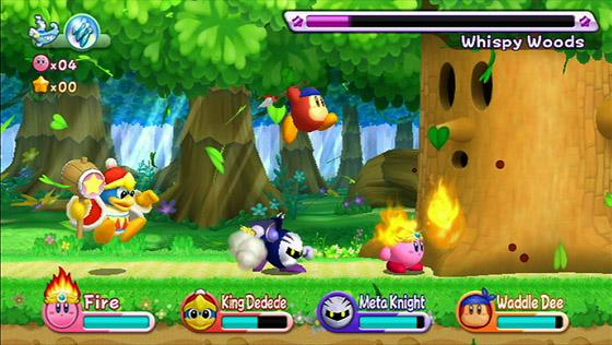 Vídeo e Imagens de Kirby's Return to Dreamland (Wii). Dreamland-3