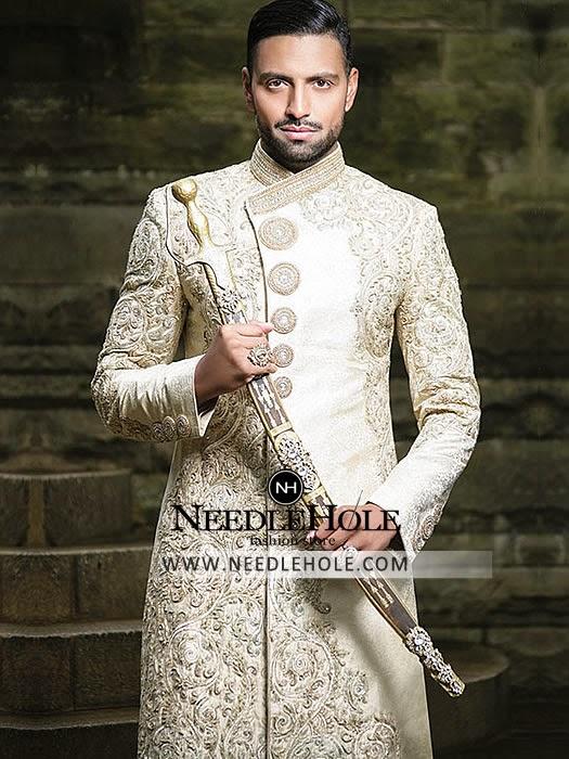 Sherwani pakistani sherwani dress for men by hsy studio hassan