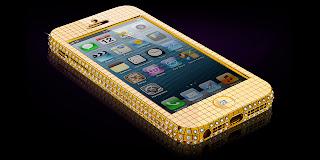 Goldgenie Luncurkan iPhone 5 Dengan Balutan Emas dan Intan