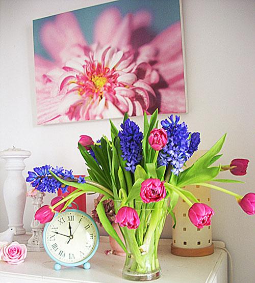 Các mẫu hoa trang trí mới nhất