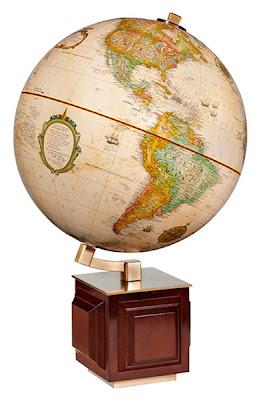 Four Square Globe 12-inch