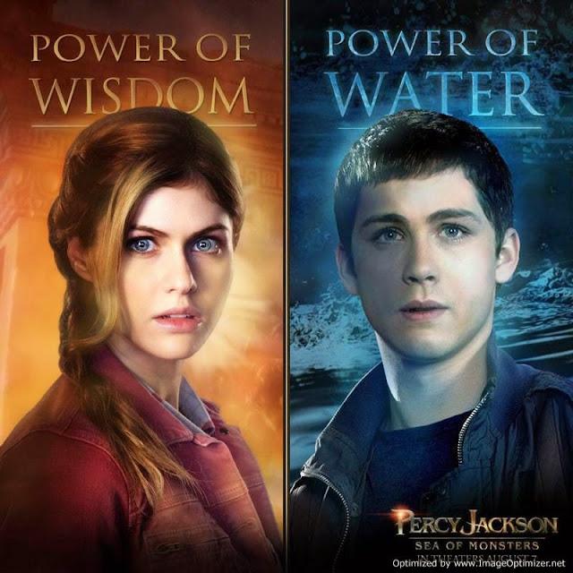 Percy Jackson e o Mar de Monstros - Filme ganha novos cartazes dos personagens!