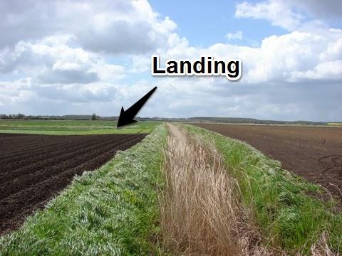 Landing site of Josef Jakobs at Dovehouse Farm, Ramsey, Huntingdonshire