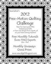 Free Motion Quilting Challenge