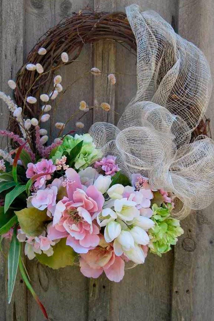Coronas de navidad mis secretos de boda events - Coronas de navidad para puertas ...