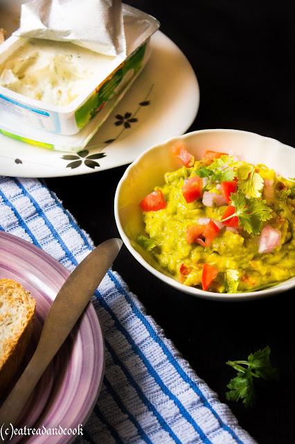 how to make a spicy avocado spread recipe or guacamole recipe