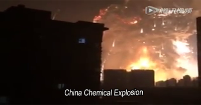 China Chemical Explosion August 12, 2015