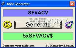 Генератор паролей для взлома