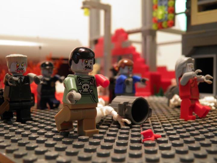 Как сделать лего зомби из человечка лего