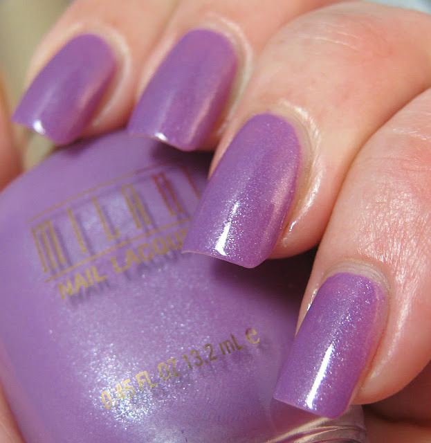 Milani Orchidia swatch and review