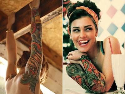 Fotos e dicas de desenhos para Tattoos Femininas no Braço
