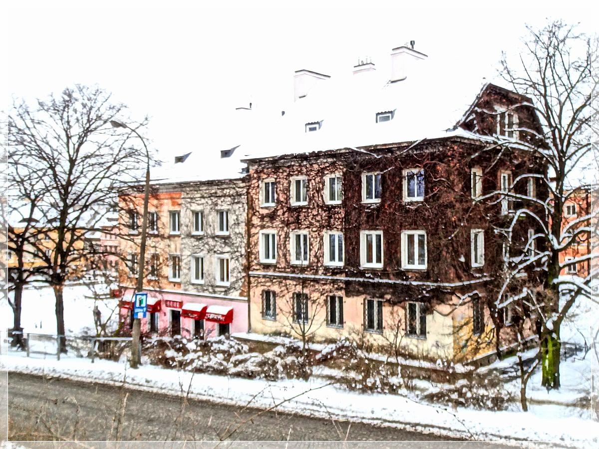 Zimowa Warszawa w HDR