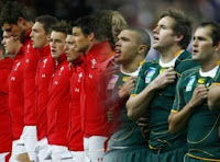 Wales, South Africa, rugby, anthems