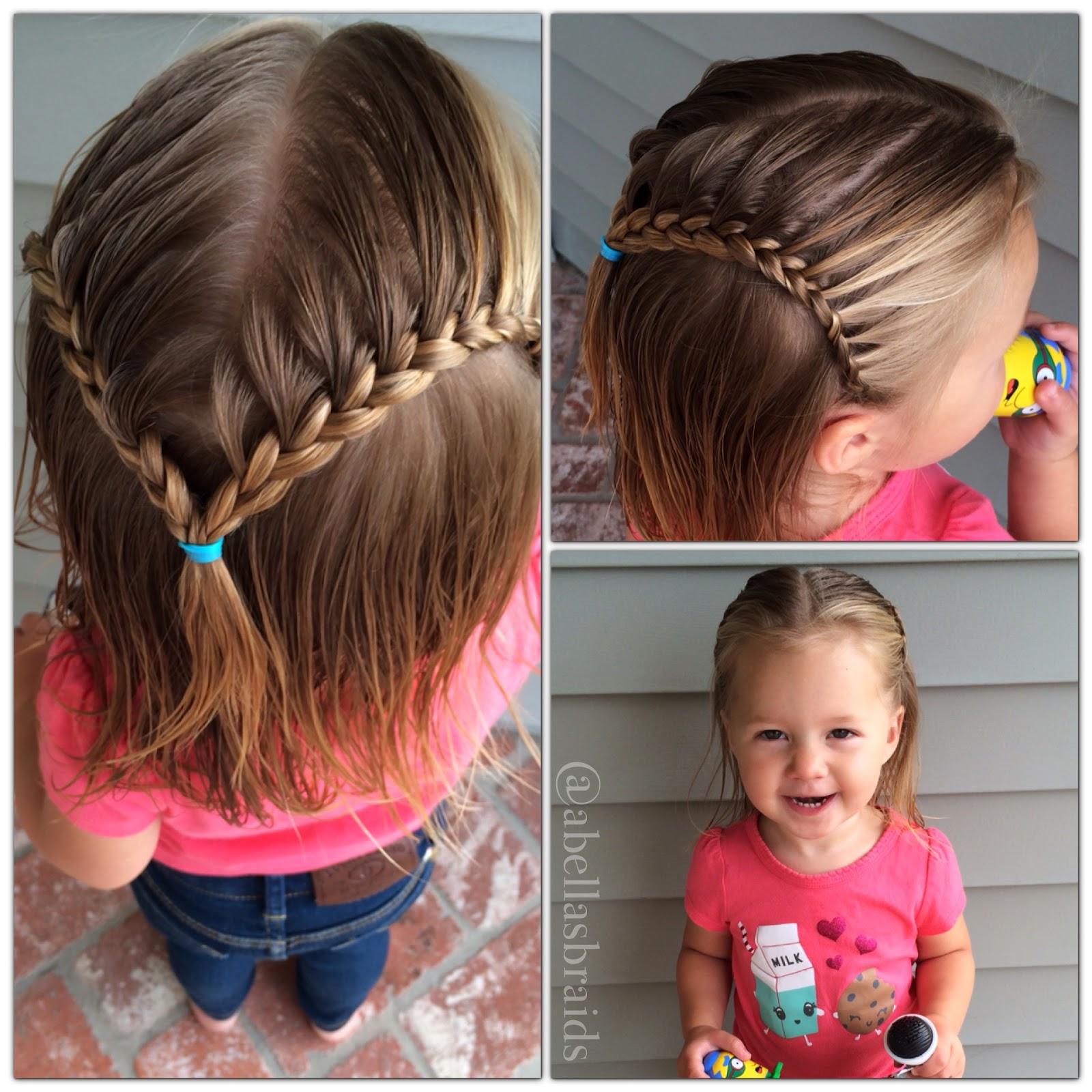 Фото детских причесок на короткие волосы