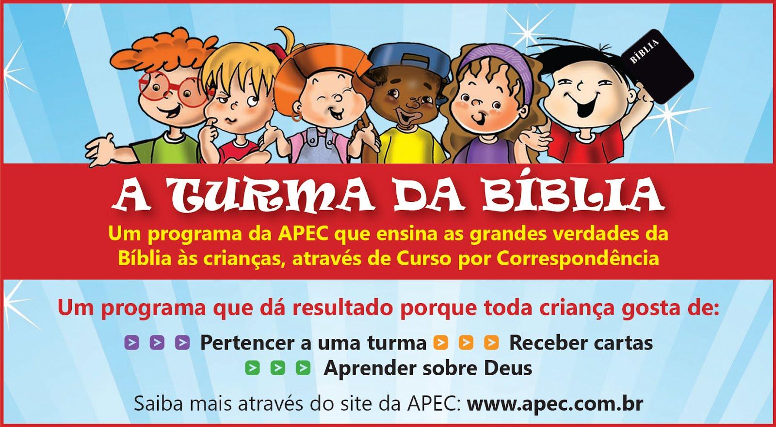 TURMA DA BÍBLIA