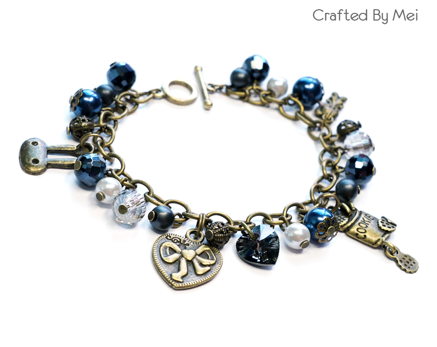 crafted by mei malaysia charm bracelet custom made