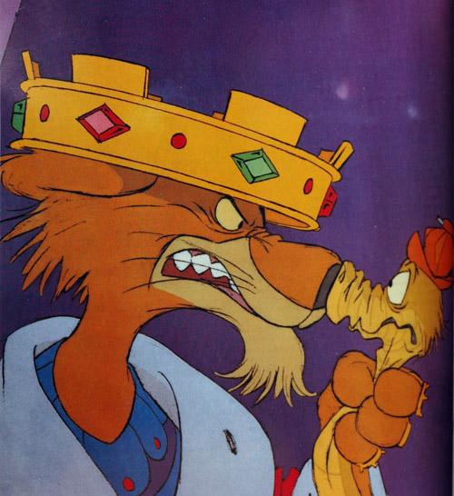 Robin Hood Cartoon Characters :