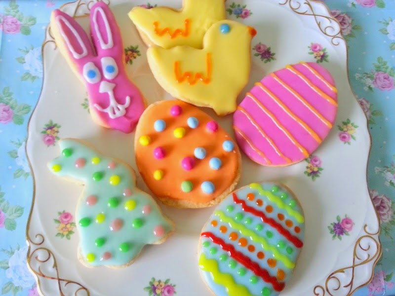 Simple, Fun and Cute Easter Biscuits