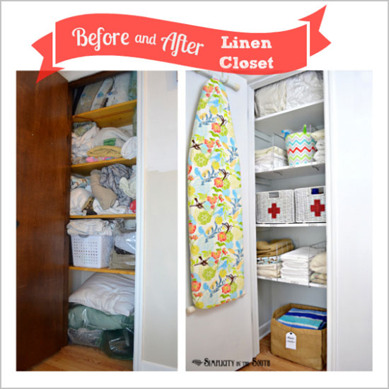 Iheart Organizing Reader Space A Lively Linen Closet