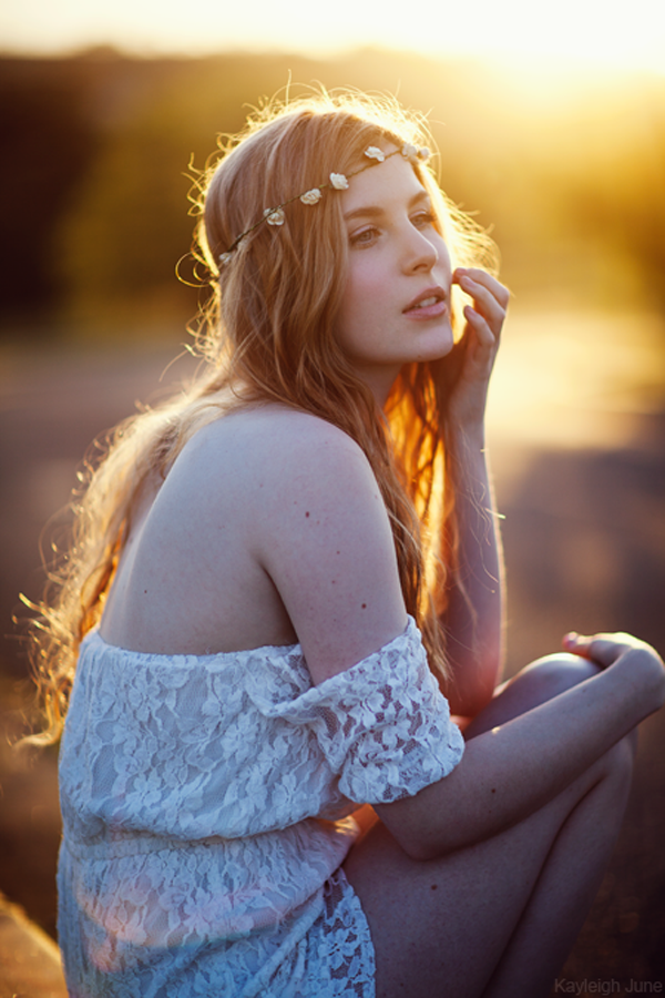 Cute Portrait Photography by Kayleigh June