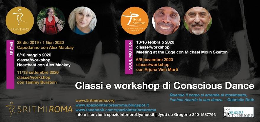 Calendario Conscious Dance
