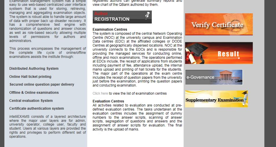 vtu online examination application form