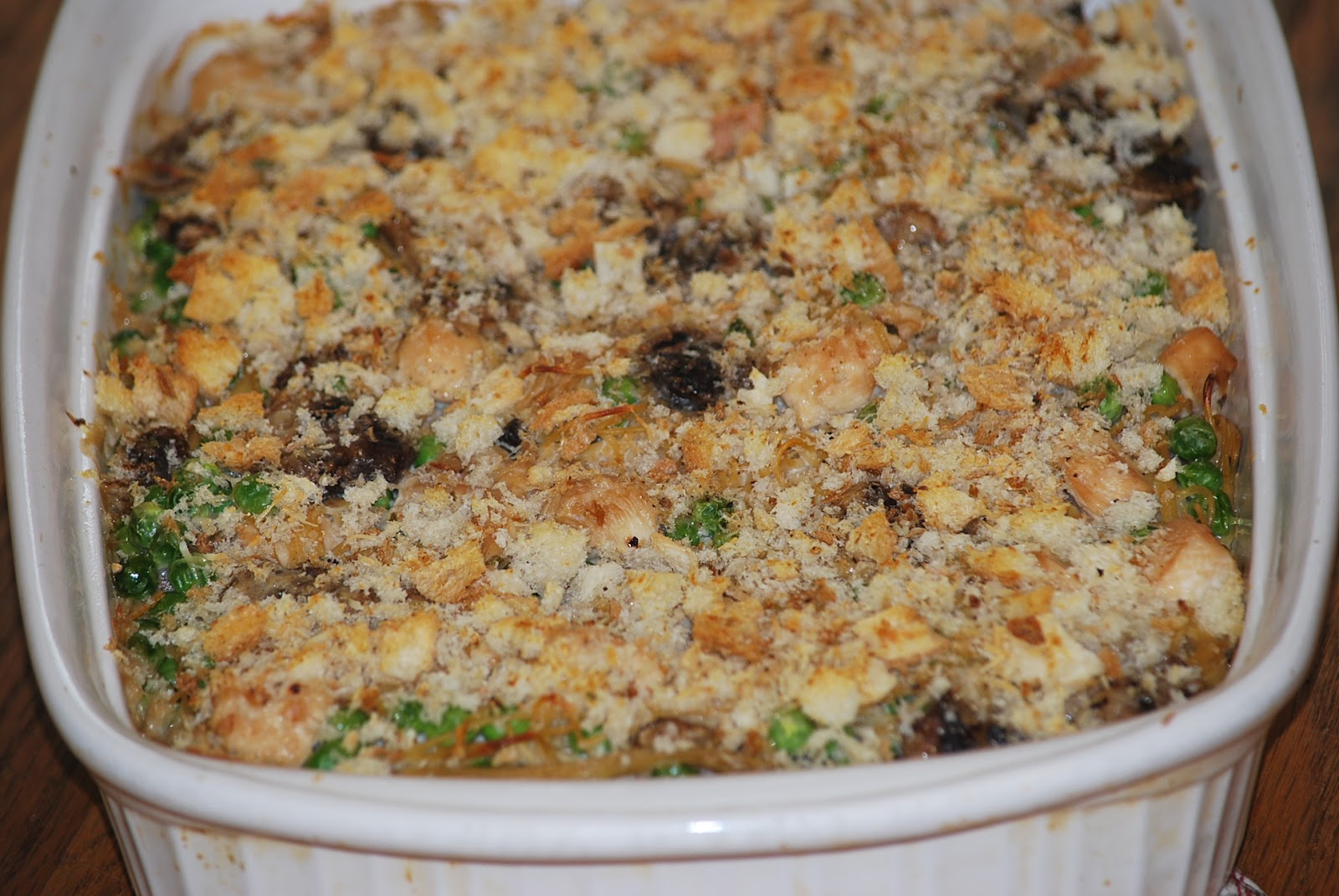 My story in recipes: Chicken Tetrazzini