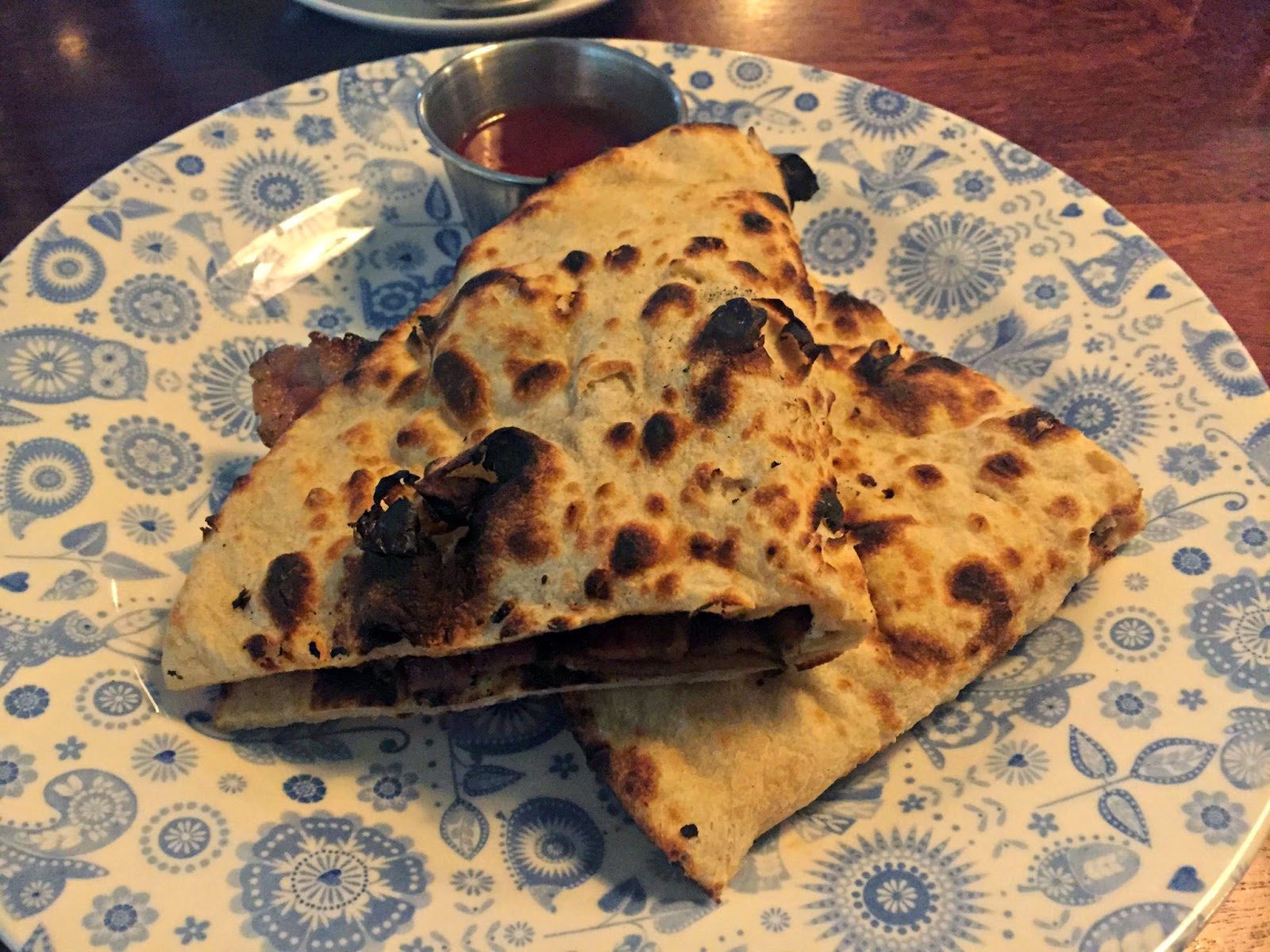Bacon Naan Roll Dishoom